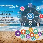 Social Hub - Fidelity Action - pubblica in automatico sui profili social